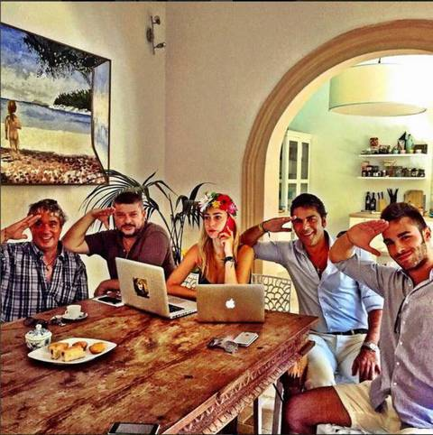 Naike rivelli e yari carrisi vacanze in famiglia for Vacanze in famiglia